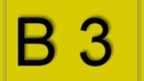 B3-schild