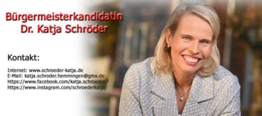 Bürgermeisterkandidatin Dr. Katja Schröder
